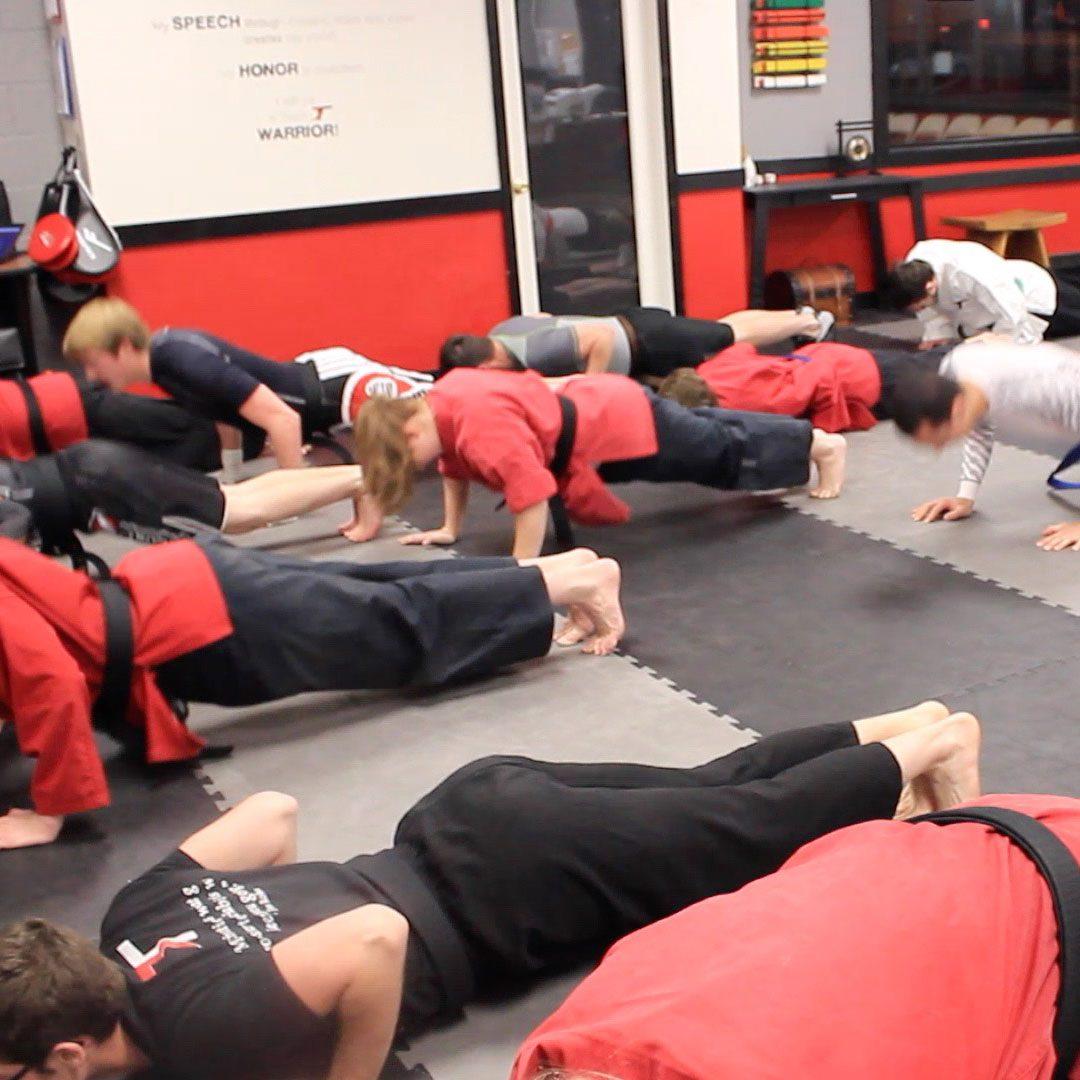 Fitness-Teenagers-Colorado-Springs-Pushups