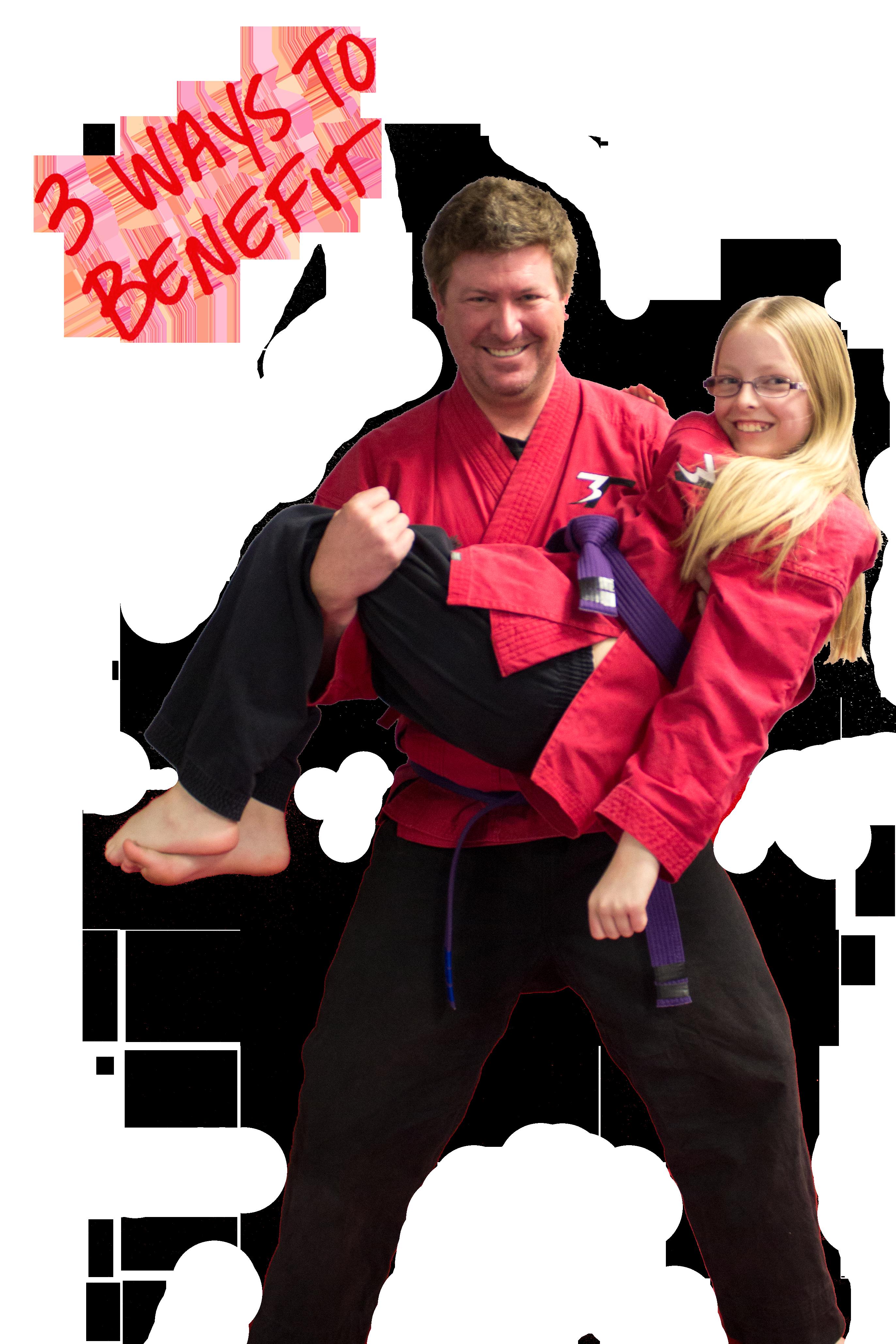 family karate 3 ways