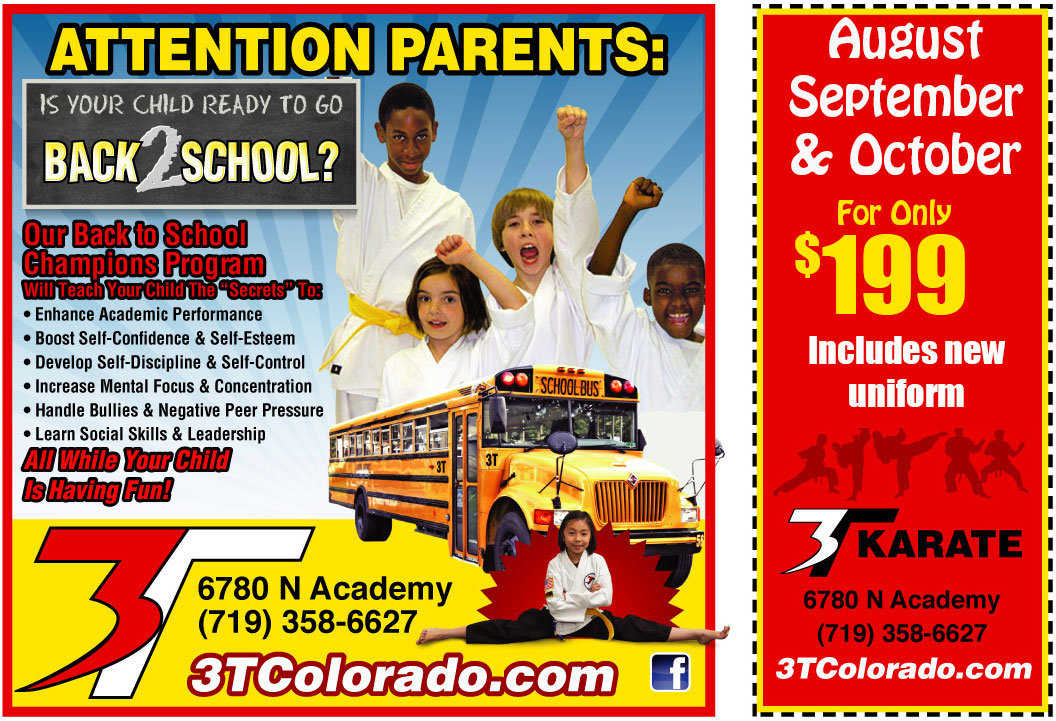 Back 2 School Karate Special