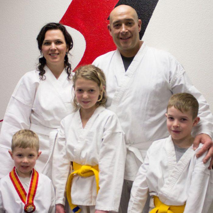 Family karate colorado springs Square